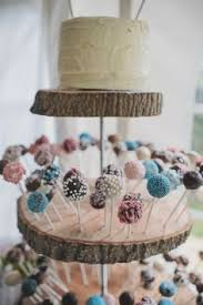 A Charming Homemade Country Wedding Colorful And Rustic Cake Pop