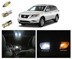 13 15 nissan pathfinder led package interior tag