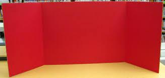 Display Board Cardboard Half