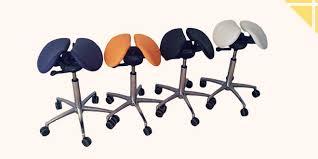 chaise de bureau mal de dos une chaise en selle pour un dos bien droit le coin forme