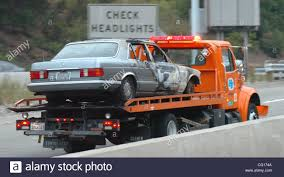 100 The Burnt Truck A CalTrans Tow Truck Takes The Burnt Car Out The The Center Of The