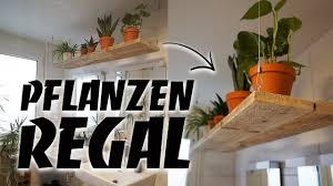 regal selber bauen pflanzen hängeregal diy aus altholz upcycling