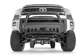 100 Push Bars For Trucks Rough Country Black Bull Bar For 0719 Toyota Tundra BT2071