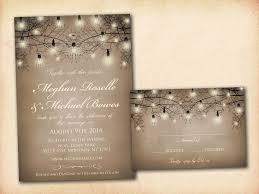 Rustic Blush Wedding Invitations