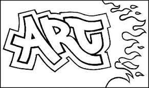 Learn To Draw Graffiti Letters ART