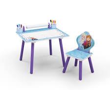 Frozen Bathroom Set Walmart by Disney Frozen Art Desk Bookshelf Easel Playroom Set Walmart Com