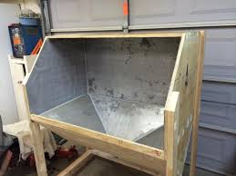 Media Blasting Cabinet Plans by Blast Cabinet Build Restorations Modifications