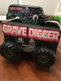 100 Gravedigger Monster Truck Grave Digger Monster Truck Valentines Box Kids School Holiday