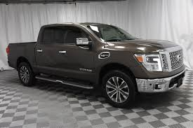 100 4x4 Truck Rims PreOwned 2017 Nissan Titan Crew Cab SL In Wichita