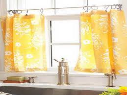 Kitchen Curtain Ideas 2017 by Orange Kitchen Curtains Ideas Southbaynorton Interior Home