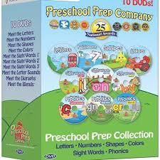 Preschool Prep Series Collection 10 DVD Boxed Set Meet the