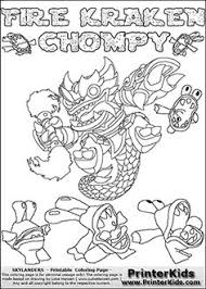 Coloring Page With FREEZE BLADE From Skylanders Swap Force Is A Standard Character And Has No Parts Other Characters