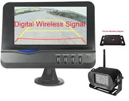 4UCam Digital Wireless Backup Camera With Monitor And Mounting Kit ... Podofo 7 Wireless Monitor Waterproof Vehicle 2 Backup Camera Kit System The Newest Upgraded Digital Amazoncom Yada Bt53872m2 Matte Black Best Aftermarket Backup Cameras Back Out Safely Safewise Ir Night Vision Car Phone Reversing For Trucks Garmin Bc 30 Truck Camper 010 8 Of 2018 Reviews Rv Welcome Quickvu Features Benefits Ip69k With 43 Dash