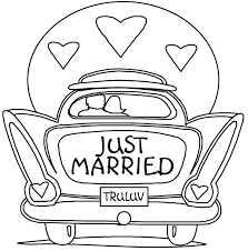 Good Free Printable Wedding Coloring Pages 58 In Book With
