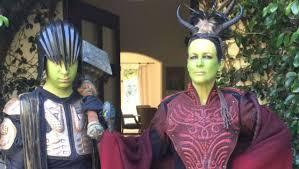 Halloween Jamie Lee Curtis Death by Jamie Lee Curtis Cosplayed On The Warcraft Red Carpet