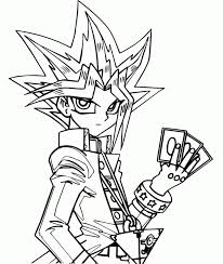Yu Gi Oh Will Put Three Cards 219545 Yugioh Coloring Pages To Print