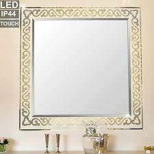 dekoration kosmetikspiegel schlafzimmer wand deko oval