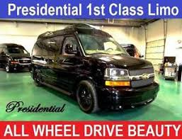 Image Is Loading 2014 Chevrolet Express High Top AWD 4X4 Limousine