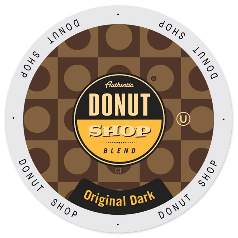 Donut Shop Single Cup Coffee Keurig K-Cup - Original Dark, 24ct