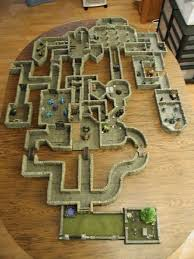 3d Dungeon Tiles Dwarven Forge by Classic Dungeon