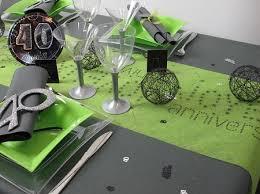 décorez votre table anniversaire 40 ans idées deco id fêtes