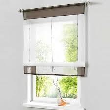 raffrollo weiss raffgardinen küche gardinen vorhänge