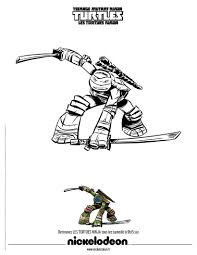 Coloriage Tortue Ninja Leonardo Elegant 7 Coloriage A Imprimer