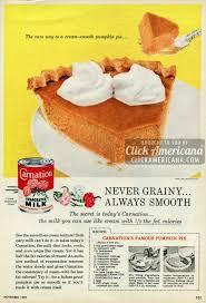Pumpkin Pie Libbys Recipe by Carnation U0027s Famous Pumpkin Pie 1959 Click Americana