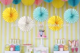 Fiesta Paper Fan Decorations Wholesale Tissue Crafts Party Wedding Home
