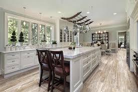 porcelain wood tile kitchen traditional with kitchen tile