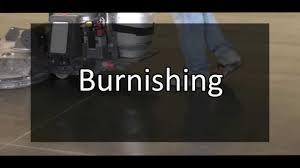 burnishing process youtube