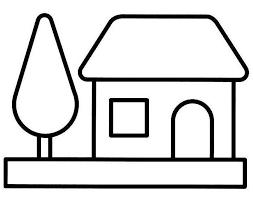 maison 20 bâtiments et architecture coloriages à imprimer