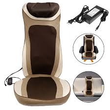 Back Massage Pads For Chairs by Shiatsu Massage Cushion Mat Seat With Heat For Chair Neck Back