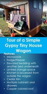 100 Gypsy Tiny House Tour Tour Of A Simple Wagon