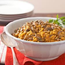 Rachael Ray Curry Pumpkin Soup by Curried Pumpkin And Mushroom Risotto Recipe Eatingwell