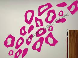 Leopard Print Bathroom Wall Decor by Cheetah Print Wall Decals Roselawnlutheran