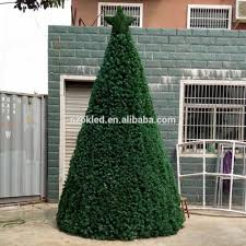 Spiral Pre Lit Christmas Trees by Outdoor Collapsible Christmas Tree With Lights Outdoor