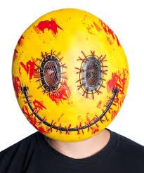 Laughing Emoji Pumpkin Carving by Bloody Happy Emoji Mask 373068 Trendyhalloween Com