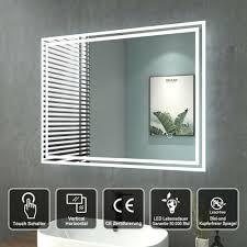 spiegel möbel wohnen badspiegel led mit beleuchtung touch