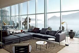 canapé b b italia modular sofa contemporary leather fabric michel b b italia