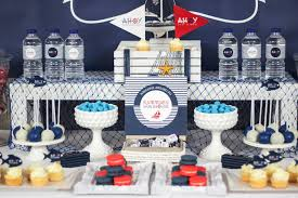 Ahoy Nautical Baby Shower Baby Shower Ideas Themes Games