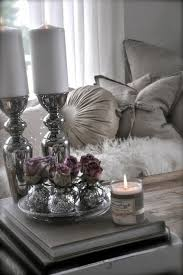 perlengraue dekoration in verschiedene formen in silberne