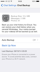 How to backup and restore WhatsApp chat messages