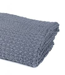 plaid gris canapé jeté de canapé couvre lit gris 100 coton plaid addict vente