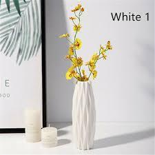 stilvolle vase blumentopf pflanzen korb home office