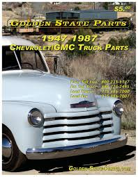 100 Chevy Truck Parts Catalog Free 19471987 GMC By Golden State