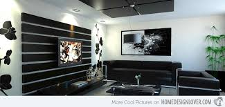 And Black Living Room