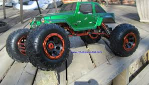 RC Rock Crawler Truck 1/8 Scale T2 RTR 4X4 2.4G 4 Wheel Steering ...
