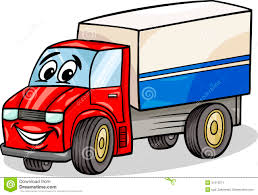 Funny Truck Car Cartoon Illustration Stock Vector - Illustration Of ...