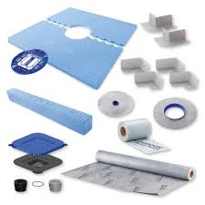 Durock Tile Membrane Canada by Durock 48 In X 48 In Shower Kit With Center Drain 170132 The